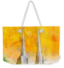 Like A Fire Is Burning Weekender Tote Bag by Greg Collins