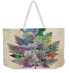 Like A Tree Weekender Tote Bag by Klara Acel