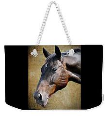 Lil Word Weekender Tote Bag by Savannah Gibbs