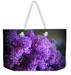 Lilac Bouquet Weekender Tote Bag