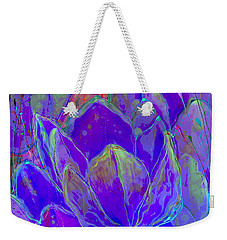 Lilac Fusion Weekender Tote Bag