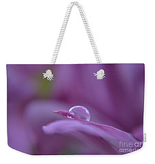 Lilac Weekender Tote Bag by Michelle Meenawong