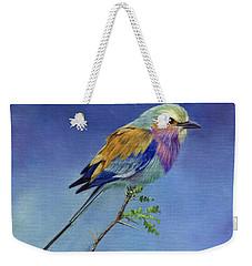 Lilacbreasted Roller Weekender Tote Bag