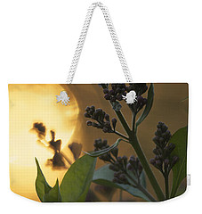 Lilacs At Sunset Weekender Tote Bag