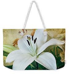 Lilies For Linda Weekender Tote Bag