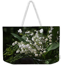 Lilies Of The Valley Weekender Tote Bag
