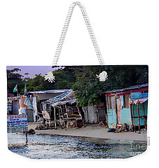 Liliput Craft Village And Bar Weekender Tote Bag