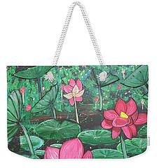 Lilies Weekender Tote Bag