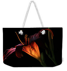 Lily Ambiance Weekender Tote Bag by Donna Kennedy