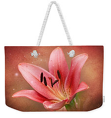 Lily Weekender Tote Bag by Ann Lauwers