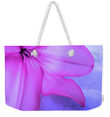 Lily - Digital Art Weekender Tote Bag by Robyn King