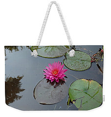 Lily Flower Weekender Tote Bag by Michael Porchik