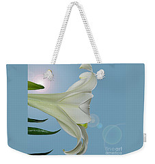 Lily Light Weekender Tote Bag