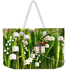 Lily Of The Valley Weekender Tote Bag by Cynthia Decker