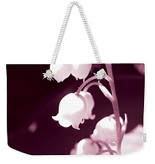 Lily Of The Valley Weekender Tote Bag by Eva Csilla Horvath