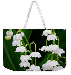 Lily Of The Valley Weekender Tote Bag