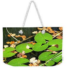 Lily Pads Weekender Tote Bag