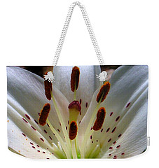 Lily Weekender Tote Bag by Patti Whitten