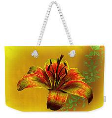 Lily Weekender Tote Bag by Richard Farrington