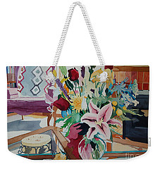 Lily Still Life Weekender Tote Bag