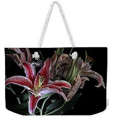 Lily The Pink Weekender Tote Bag by Wayne Sherriff