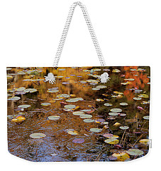 Lilypads And Reflection Weekender Tote Bag