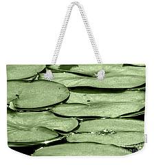 Lilypads Weekender Tote Bag