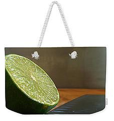 Lime Blade Weekender Tote Bag by Joe Schofield