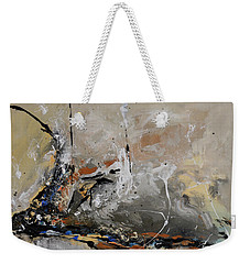 Limitless - Abstract Painting Weekender Tote Bag by Ismeta Gruenwald