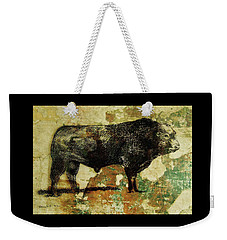 French Limousine Bull 11 Weekender Tote Bag
