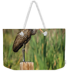 Limpkin Weekender Tote Bag by Jane Luxton