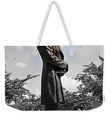 Lincoln At Lytle Park Weekender Tote Bag by Kathy Barney