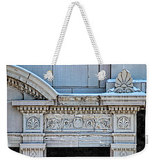 Lincoln County Courthouse Door Arch Weekender Tote Bag