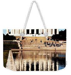 Lincoln Memorial Weekender Tote Bag by Daniel Thompson