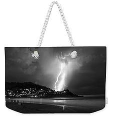Linda Mar Lightning Weekender Tote Bag
