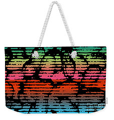 Linear Freestyle Weekender Tote Bag