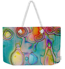 Lines And Circles 05 - C8tl01 Weekender Tote Bag by Variance Collections