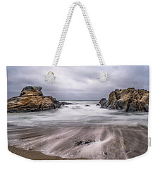 Lines In The Sand Weekender Tote Bag
