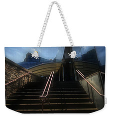 Weekender Tote Bag featuring the photograph Lines N Textures by Robert McCubbin