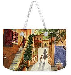 Lingering Spirit-sedona Weekender Tote Bag by Marilyn Smith