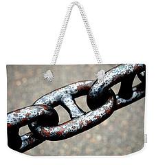Linked Weekender Tote Bag by Charlie and Norma Brock
