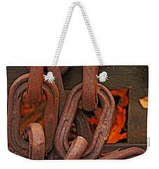 Linked Weekender Tote Bag by Rowana Ray