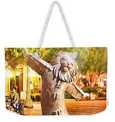 Lion Fountain Weekender Tote Bag