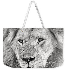 Lion King Weekender Tote Bag by Adam Romanowicz