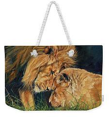 Lion  Love Weekender Tote Bag