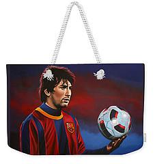 Lionel Messi 2 Weekender Tote Bag