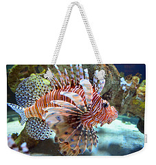 Lionfish Weekender Tote Bag by Sandi OReilly