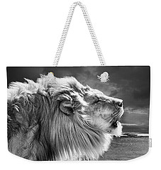 Lions Breath Weekender Tote Bag by Adam Olsen