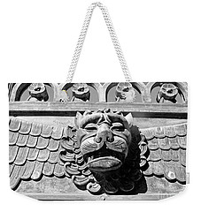 Lions Head Weekender Tote Bag by Carsten Reisinger
