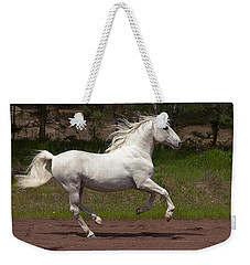 Lipizzan At Liberty Weekender Tote Bag by Wes and Dotty Weber